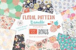 Floral Pattern Bundle - Vectors Product Image 1