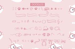 Misty The Cat - 5 Designs With Bonus Doodles Product Image 4