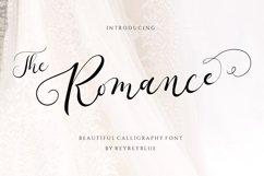 The Romantic - Wedding Font Product Image 1