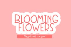 Blooming Flowers Product Image 1