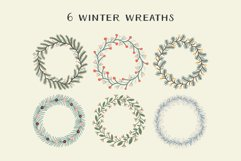 Christmas Wreaths And Bouquets - Winter Flowers And Plants Product Image 3