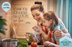 Christian Sign SVG, Gratitude Cut File For Sign Making Product Image 3