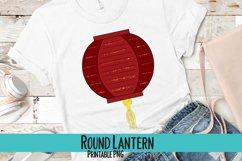 Round Lantern Sublimation PNG Product Image 1