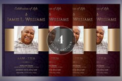Dignity Funeral Program Template Bundle Publisher Word Product Image 2