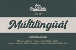Boldmatte Bold Script Font Product Image 6