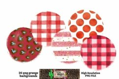 Patriotic July 4th Grunge Backgrounds for Dye Sublimation Product Image 3