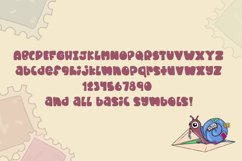 Snail Mail| A fat and chunky font! Product Image 2