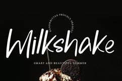 Milkshake - Smart & Beautiful Font Product Image 1