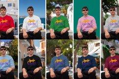 Gecko Man 1 Sweatshirt mock up Product Image 2