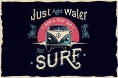 Dark surfer - vintage label font Product Image 4
