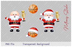 Merry Christmas and Happy New Year. Basketball. Product Image 4