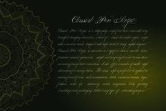Classical Pen Script Product Image 2