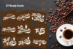 Coffee time Set. Coffee menu design Product Image 3