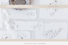 Fine Art Florals - Pencil Sketches Product Image 4