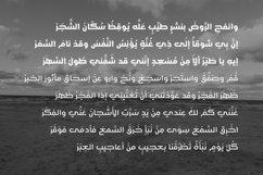 Jazeel - Arabic Typeface Product Image 4