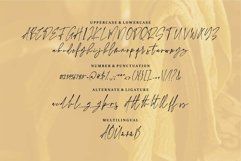 Web Font Anggilla - A Stylish Signature Font Product Image 2