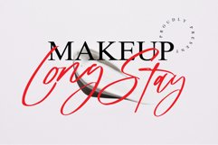 long stay handwritten font Product Image 1