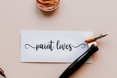 Eassy Vigossa - Calligraphy Font Product Image 6