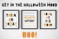Spooky font with EXTRAS! Product Image 6