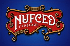 Nufced Typeface Product Image 3