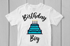 Happy Birthday Boy - Birthday SVG EPS DXF PNG Cutting Files Product Image 2