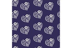 Delicate pattern on a blue background Product Image 1