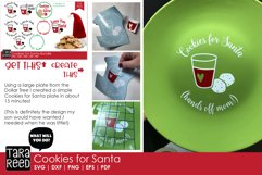 Cookies for Santa - Christmas SVG & Cut Files for Crafters Product Image 2