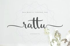 rattu handletter font Product Image 1