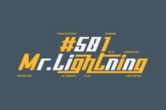 Thunderbold // Web Font Product Image 6