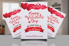Valentine Day Psd Flyer Product Image 1
