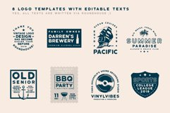 Roundhouse - Rounded Vintage Typeface Product Image 4