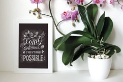 Set of Banners with coffee quotes. Product Image 3
