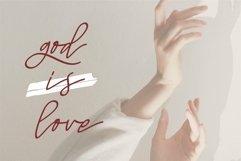 Web Font Mellani - Beauty Signature Font Product Image 2