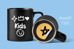 Kids Cute- Child font with doodle glyphs Product Image 4