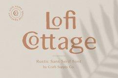 Lofi Cottage - Rustic Sans Serif Product Image 1