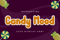 Candy Mood - Cute Display Font Product Image 1
