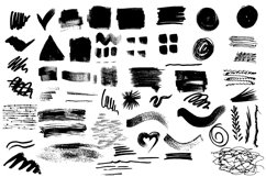 66 Grunge brushes set 1 Product Image 2