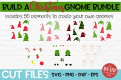 Build a Christmas Gnome Bundle SVG, PNG, DXF, EPS Product Image 2