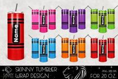 Huge Bundle 20 Oz. Skinny Tumbler Wrap Sublimation Design Product Image 3