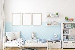 Frame mockup, Poster Mockup, Mockup in interior Product Image 3