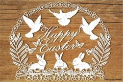 Happy Easter SVG files for Silhouette Cameo and Cricut. Product Image 1