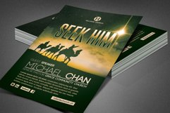 Seek Him Church Flyer Template Product Image 5