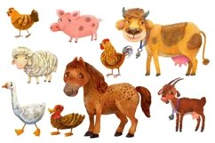 Farm animals/ PNG Product Image 3