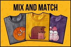 Animal Hugs Bundle - Illustrations and patterns Product Image 3