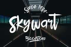 BloodStone Typeface Product Image 2