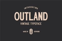 Outland - Vintage Typeface Product Image 1