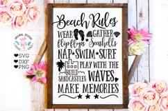 Home and Summer Rules Cut Files and Sublimation Bundle Product Image 3