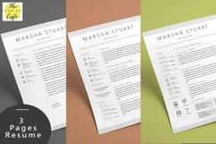 Elegant MS Word Resume  Product Image 2
