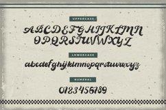 Vintage Wheel - Vintage Script Font Product Image 2