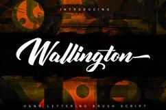 Wallington | Hand Lettering Brush Script Product Image 1